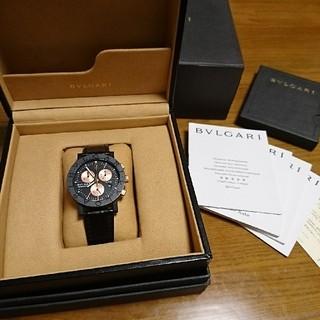 ブルガリ(BVLGARI)のBVLGARI 999本限定 カーボンゴールド ブルガリブルガリ 高級腕時計(腕時計(アナログ))