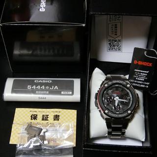 カシオ(CASIO)の3年保証付き G-SHOCK G-STEEL GST-W100D-1A4JF(腕時計(デジタル))
