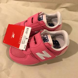 ニューバランス(New Balance)の14.5cm 新品未使用 ニューバランス   靴 女の子 ピンク(スニーカー)