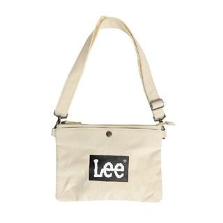 リー(Lee)のLeeロゴ(black)サコッシュ(ショルダーバッグ)