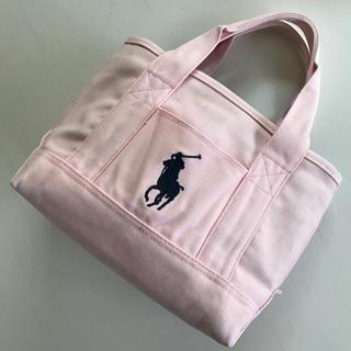 ポロラルフローレン(POLO RALPH LAUREN)のポロラルフローレン トートバッグ ピンク(トートバッグ)