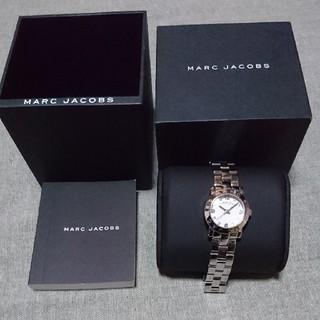 マークバイマークジェイコブス(MARC BY MARC JACOBS)の稼働中 マークバイマークジェイコブス シルバー スモールエイミー 腕時計(腕時計)