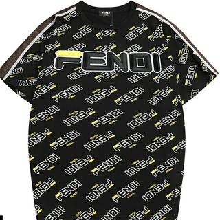 フェンディ(FENDI)のフェンディ  FENDI  半袖  Tシャツ   L(Tシャツ(半袖/袖なし))