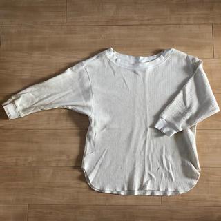 ユニクロ(UNIQLO)のユニクロ ワッフルtシャツ(Tシャツ(長袖/七分))