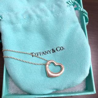 ティファニー(Tiffany & Co.)のTiffany オープンハート ネックレス(ネックレス)