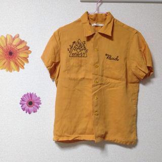 カスタネ(Kastane)のGWセールkastaneボーリングシャツ(シャツ/ブラウス(半袖/袖なし))
