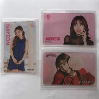 Waste(twice) - TWICE クリアカード 3枚セット ナヨン