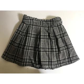 新品■大きいサイズ3L■チェックキュロットスカート■チェック大(キュロット)