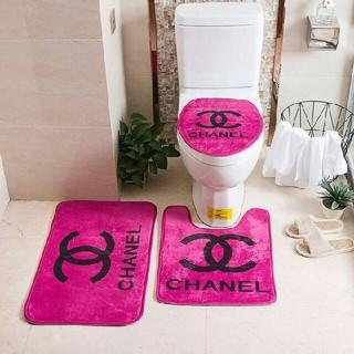 シャネル(CHANEL)の新しい! 未使用の家庭用バスルームマットセット(バスマット)