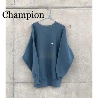 チャンピオン(Champion)の【値下げ】希少 90s Champion リバースウィーブ スウェット(トレーナー/スウェット)