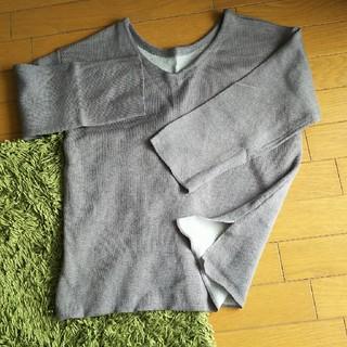 シンプルVネックカットソー🎵(カットソー(長袖/七分))