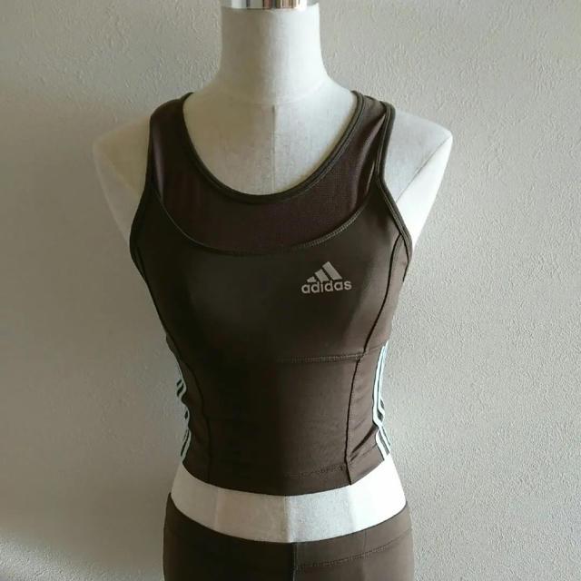 adidas(アディダス)の新品未使用!アディダス スポーツウェア スポーツ/アウトドアのトレーニング/エクササイズ(ヨガ)の商品写真