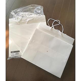結婚式 ウエディング 白 紙袋 手提げ袋 贈答用(カード/レター/ラッピング)