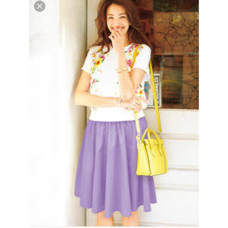チェスティ(Chesty)のchestyチェスティ♡ウエストタックフレアスカート(ひざ丈スカート)