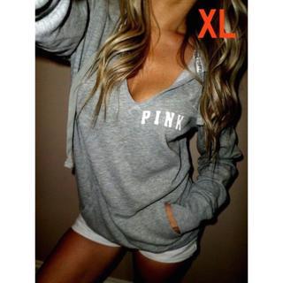 パーカー PINK  人気急上昇! XLサイズ入荷しました!(パーカー)