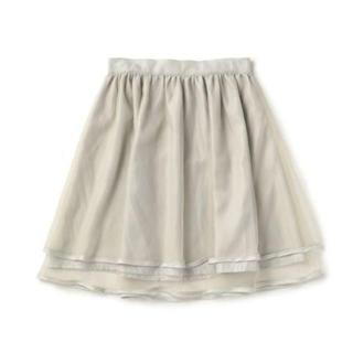 リズリサ(LIZ LISA)のLIZ LISA☆新品♪ふんわりボリューム*ガーリーオーガンジーフレアスカート(ひざ丈スカート)