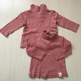 ザラ(ZARA)のzara baby ハイネック Tシャツ(Tシャツ)