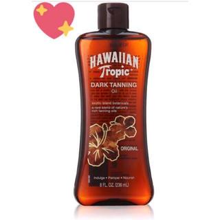 コパトーン(Coppertone)のハワイアントロピック ダークタンニング サンオイル (日焼け止め/サンオイル)