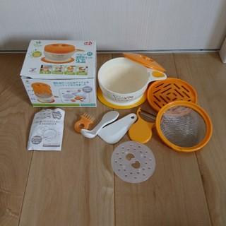 アカチャンホンポ(アカチャンホンポ)の離乳食 ベビー 調理器9セット(離乳食調理器具)