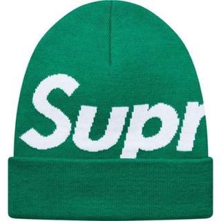 Supreme - Supreme Big Logo Beanie 緑 Green