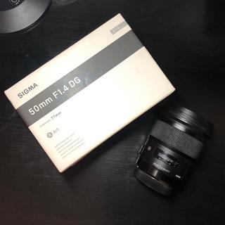 シグマ(SIGMA)のSIGMA 50mm F1.4 DG HSM Art レンズ(レンズ(単焦点))