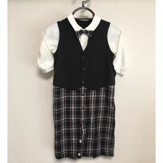 コムサイズム(COMME CA ISM)のフォーマル コムサ カバーオール 結婚式 入園式 セレモニー男児 50‐70cm(セレモニードレス/スーツ)