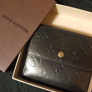 ルイヴィトン(LOUIS VUITTON)のヴィトン 三つ折り 財布 正規(財布)