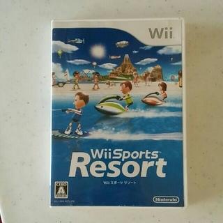 ウィー(Wii)のWii Sports Resort  Wii スポーツ リゾート(家庭用ゲームソフト)