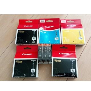 キヤノン(Canon)のCanon キャノン 純正インク 7e 9 ジャンク(PC周辺機器)