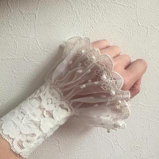 付け袖 新品(手袋)