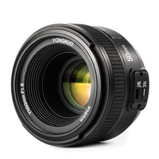 Nikon - 大人気☆Nikon用 単焦点レンズ YN50mm f/1.8