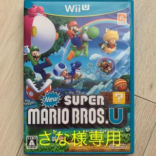 ウィーユー(Wii U)のWiiU ニュースーパーマリオブラザーズ U 中古(家庭用ゲームソフト)