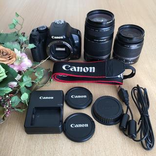 キヤノン(Canon)のCanon EOS kiss X2  ダブルレンズセット(デジタル一眼)