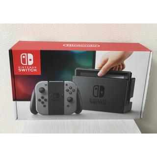 ニンテンドースイッチ(Nintendo Switch)のNintendo Switch  ニンテンドースイッチ Joy-Con グレー(家庭用ゲーム本体)