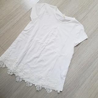 ザラ(ZARA)の#140#ザラ#Tシャツ#レース(Tシャツ/カットソー)