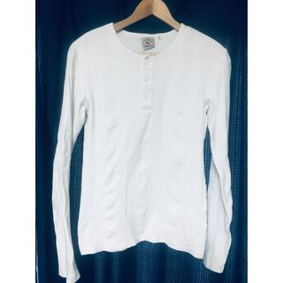 アヴィレックス(AVIREX)のAVIREX ヘンリーネック Tシャツ(Tシャツ/カットソー(七分/長袖))