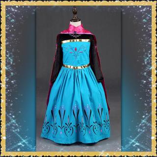 エルサ プリンセス 戴冠式 ドレス 120cm(衣装一式)