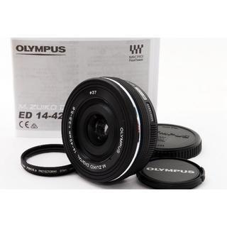 オリンパス(OLYMPUS)のB12★OLYMPUS M.ZUIKO14-42mm  EZ #2010B(レンズ(ズーム))