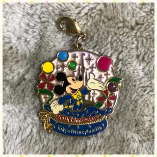 Disney - 非売品 Tokyo Disneyland 20周年 ミッキー ファスナーチャーム