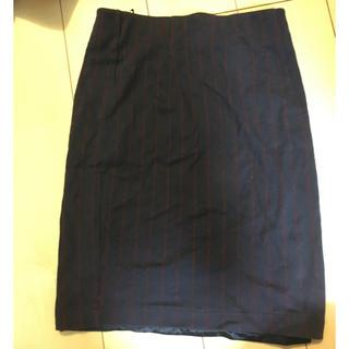 アズノウアズ(AS KNOW AS)のストライプタイトスカート(ミニスカート)
