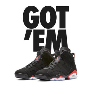 "NIKE - NIKE AIR JORDAN 6 ""BLACK INFRARED"""