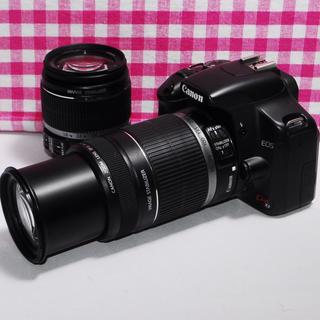 キヤノン(Canon)の❤️遠くの撮影もバッチリ❤️Canon kiss x2 大迫力のダブルズーム(デジタル一眼)