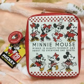 ディズニー(Disney)の90周年 ミニー  スクエアポーチ レトロ ポーチ(ポーチ)