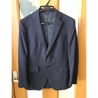 オリヒカ(ORIHICA)の【ORIHICA/オリヒカ】春夏物スーツ A4 Fit ネイビー ストライプ(セットアップ)