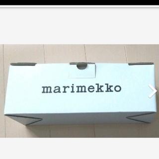 マリメッコ(marimekko)の美品!  マリメッコ marimekko  空き箱 ギフトボックス(ラッピング/包装)