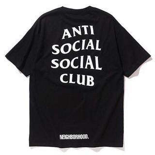 ネイバーフッド(NEIGHBORHOOD)の【L】ANTI SOCIAL SOCIAL CLUB×ネイバーフッドTシャツ(Tシャツ/カットソー(半袖/袖なし))
