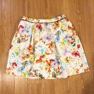 チェスティ(Chesty)のチェスティ chesty 花柄 スカート(ひざ丈スカート)