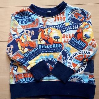 リトルベアークラブ(LITTLE BEAR CLUB)のLITTLEBEARCLUB トレーナー⭐100サイズ(Tシャツ/カットソー)