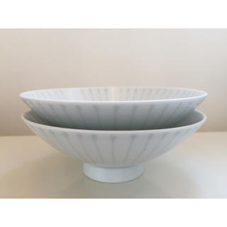 白山陶器 平茶碗 2セット