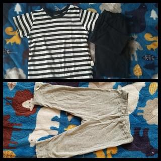 シマムラ(しまむら)のTシャツ ハーフパンツ レギンス 80(Tシャツ)